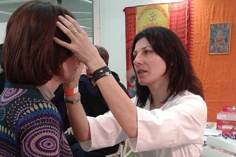 trattamento di riflessologia facciale